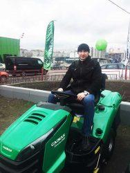отзывы садовый трактор Caiman