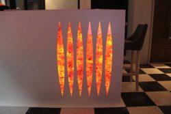 Мебель Vanixa эмоциональная угли тлеющие эффект фальш камин Милан Италия салон