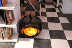 Мебель Vanixa эмоциональная углей тлеющих эффект огонь фальш камин Милан Италия шоу рум