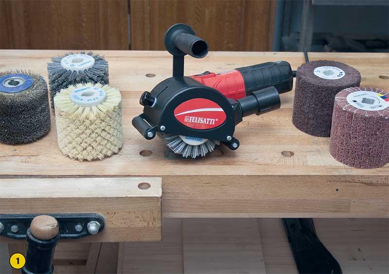 Браширование и патинирование древесины своими руками 34