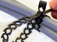 стяжка для кабелей Fischer крепеж новинки