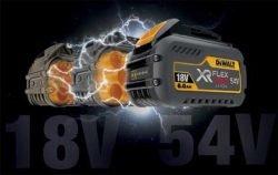 VlexVolt DeWALT аккумулятор аккумуляторная система