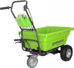 официальный сайт Greenworks G40GC садовая тележка
