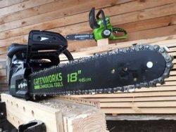 отзывы Greenworks пила GD80CS50 Гринворкс 80 Вольт