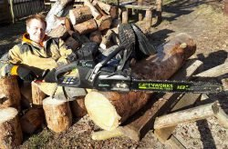 Greenworks пила отзывы цена тест цепная газонокосилка