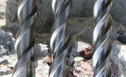 тест бур сверление арматуры биты