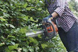 Бензоножницы кустов Husqvarna 122HD60 ножницы садовые бензиновые живой изгороди