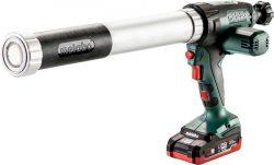 Metabo KPA 18 LTX 400 600 аккумуляторный пистолет герметик