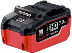Metabo LiHD аккумулятор батарея 7 А ч 18 В сильноточные ячейки 2 3,5