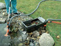 оборудования для пруда искусственного своими руками
