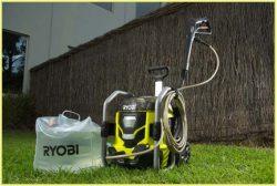Ryobi RPW36120HI мойка аккумуляторная 36 В портативная высокое давление бесщеточный двигатель