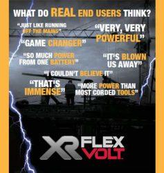 FlexVolt DeWALT отзывы тест Stanley инструмент