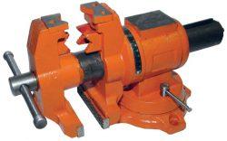 цилиндрические поворотные слесарные тиски Энкор арт. 20088