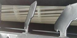 Чистка крыльчатки вентилятора внутреннего блока