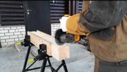 125 диск для болгарки резать древесину