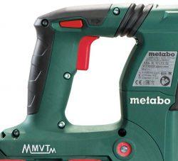 Аккумуляторный перфоратор Metabo KHA 36 18 LTX 32 MVT система гашения вибраций