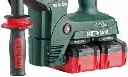 Аккумуляторный перфоратор Metabo KHA 36 18 LTX 32 2 батареи В