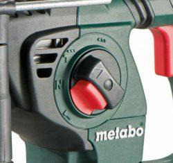 Аккумуляторный перфоратор Metabo KHA 36 18 LTX 32 переключатель режим