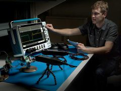 Tektronix осциллограф смешанных сигналов