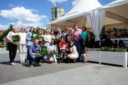 Gardena Moscow Flower Show 2017 картины мха растений мох растения