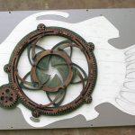 ArtMechanicus com кинетическая скульптура рыба искусство создание механизм