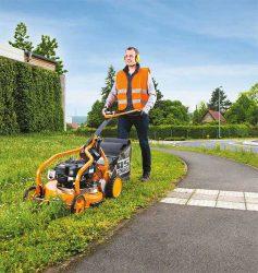 для коммунальных служб газонокосилки техника немецкая