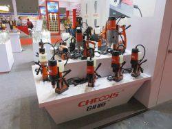 Выставка CIHS 2016 Шанхай сверлильные станки CHtools