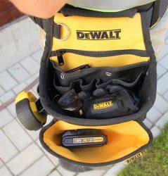DCD77 S2T DeWALT поясная сумка кобура