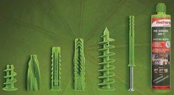Fischer крепежные системы зеленые дюбели анкер состав инъекционный