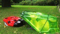 Роботизированная газонокосилка Husqvarna Automower 310 Ботанический сад МГУ Аптекарский огород