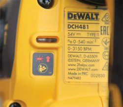 DeWALT DCH481N-X ,цена купить