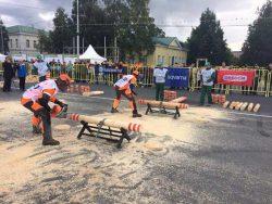 Husqvarna бензопилы чемпионат России Лесоруб 2017 Петрозаводск Карелия