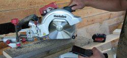 Metabo LiHD Li Power аккумулятор тест пила торцовочная УШМ болгарка