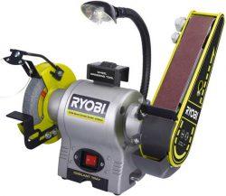 Ryobi RBGL650G точило станок ленточный шлифовальный заточной заточный