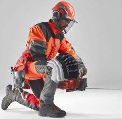 Husqvarna Technical защитная одежда экипировка шлем брюки куртка полукомбинезон