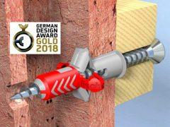 Дюбель Fischer DuoPower двухкомпонентный German Design Award золотая награда золото