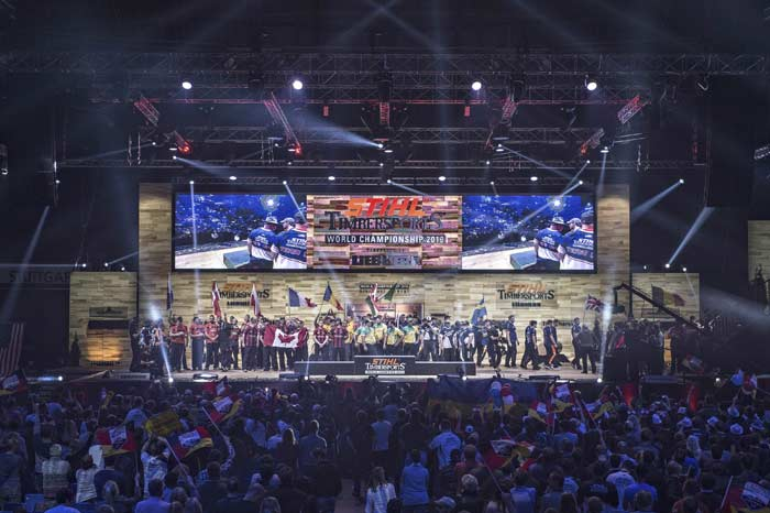 Stihl TimberSports 2016 чемпионат мир спортивная валка лес