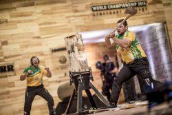 Чемпионат Stihl TimberSports спортивная валка лес топор пила