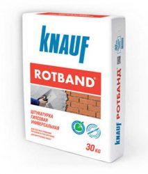 Knauf Rotband акция день рождения Ротбанд штукатурка