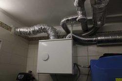 Вентиляционная установка Viessmann Enervent с рекуператором тепла