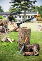 Fiskars: серия WoodXpert для работы с древесиной новости