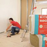 Rockwool звукоизоляция помещения материалом «Акустик Баттс» мастер-класс