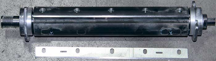 Станок Белмаш Belmash SDMR 2500 вал нож фуговальный стальной