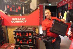 Milwaukee Packout адаптер переходник 2018 конференция Копенгаген система хранения транспортировки инструмент