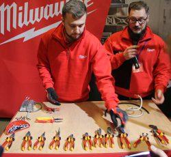 Milwaukee 2018 конференция Копенгаген пассатижи кусачки инструмент электрик шарнирно губцевый