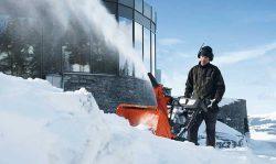 Цепные пилы и снегоотбрасыватели Husqvarna ликбез