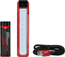 Milwaukee L4 FL 201 фонарь карманный RedLithium USB Red Lithium Ion
