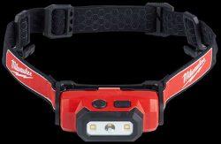 Milwaukee L4 HL 201 фонарь налобный RedLithium USB Red Lithium Ion
