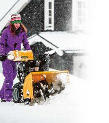 Stiga 1371 Pro 1581 Pro двухступенчатые шнекороторные снегоуборщики