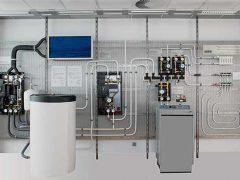Система отопления выбор котла организация контуров система ГВС монтаж